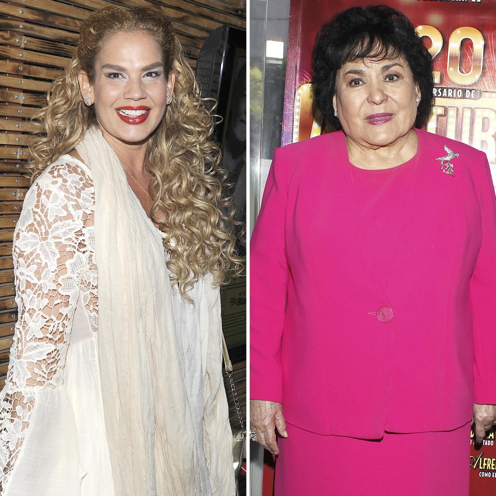 Niurka Marcos y Carmen Salinas