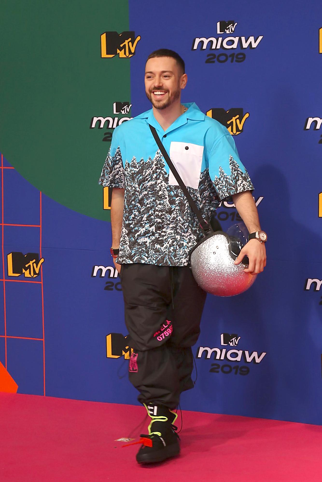 Pee Wee en premios MTV MIAW 2019