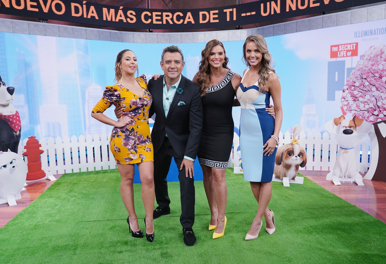 Stephanie Himonidis, Héctor Sandarti, Rashel Díaz, Jessica Carrillo