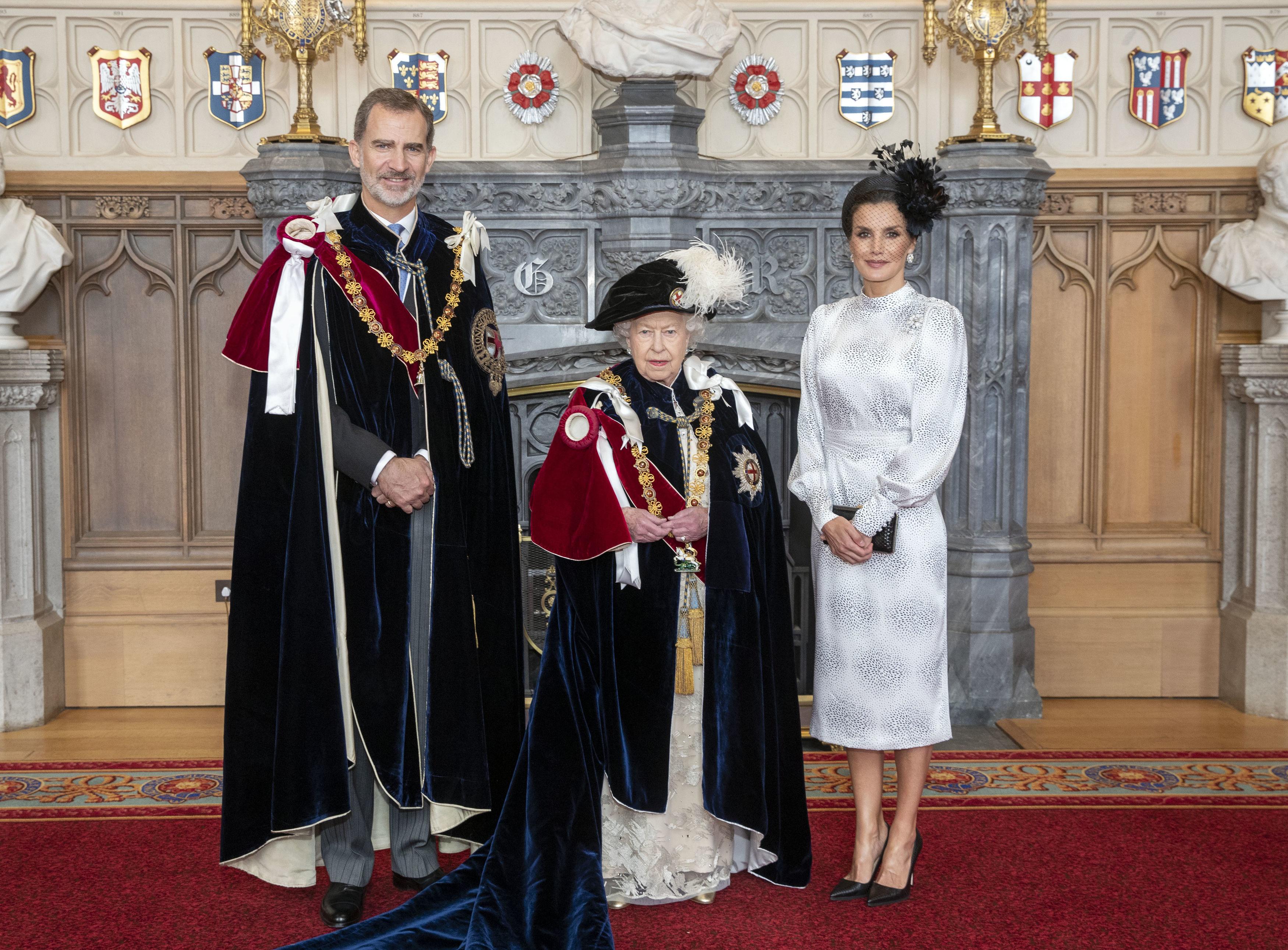 Rey Felipe VI Reina Isabel Reina Letizia