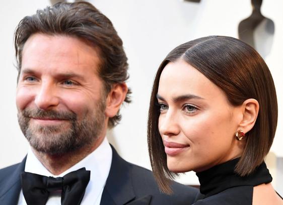 Bradley Cooper and Irina Shayk STEVE GRANITZ/WIREIMAGE
