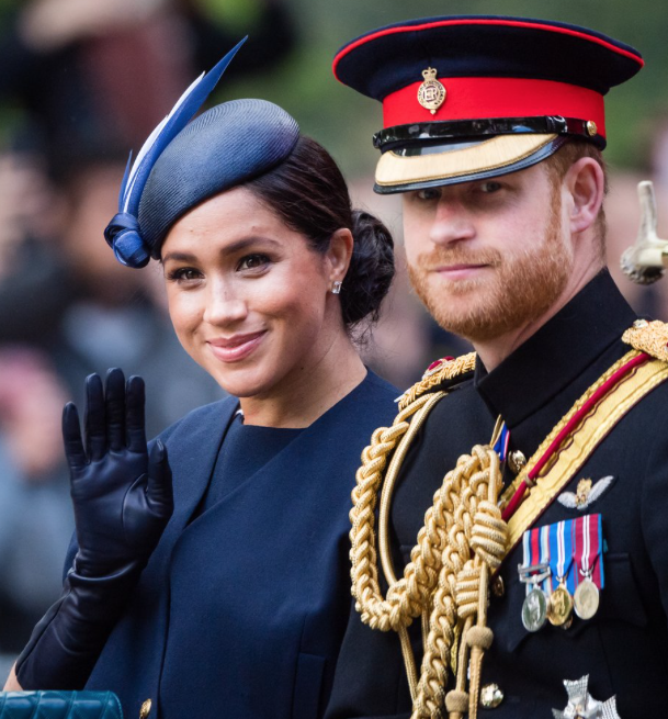 Meghan Markle and Prince HarrySamir Hussein/WireImage