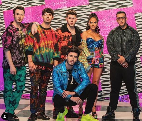 Sebastián Yatra, Natti Natasha, Daddy Yankee, Jonas Brothers