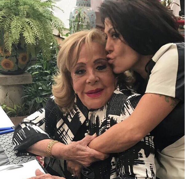Silvia Pinal y Alejandra Guzmán