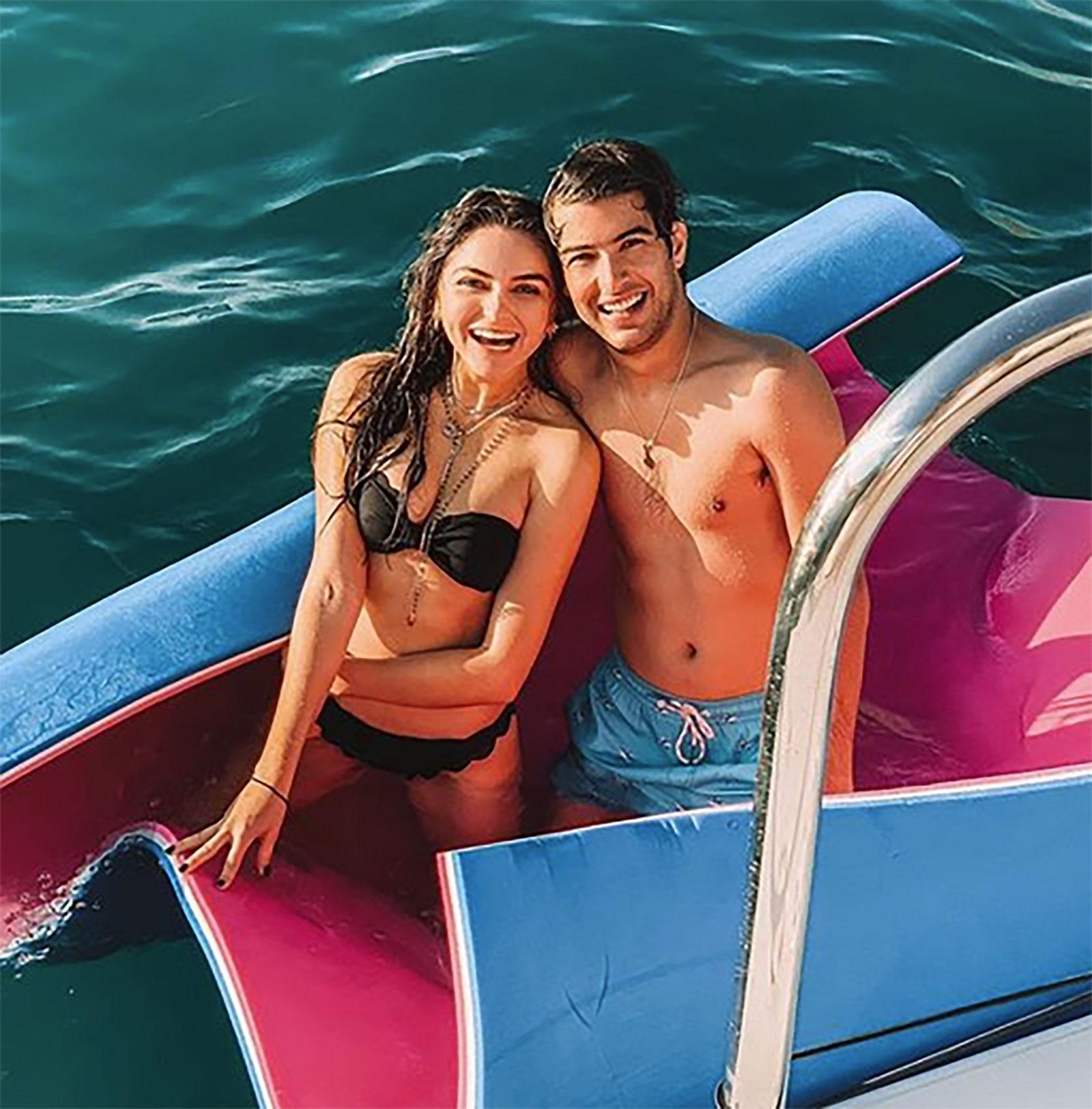 Juan Pablo Gil y Sofía Castro