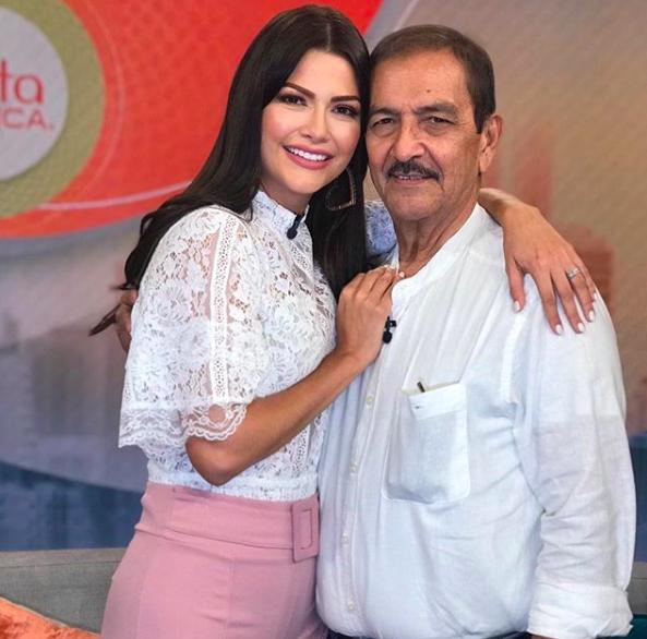 Ana Patricia Gámez, papá