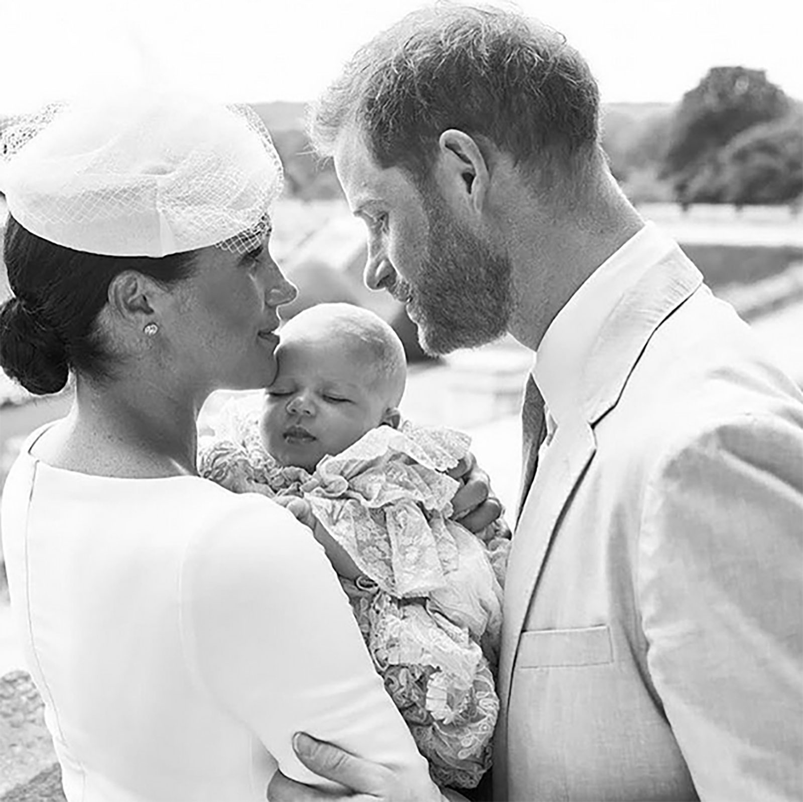 Bautizo de Archie, Meghan Markle, príncipe Harry