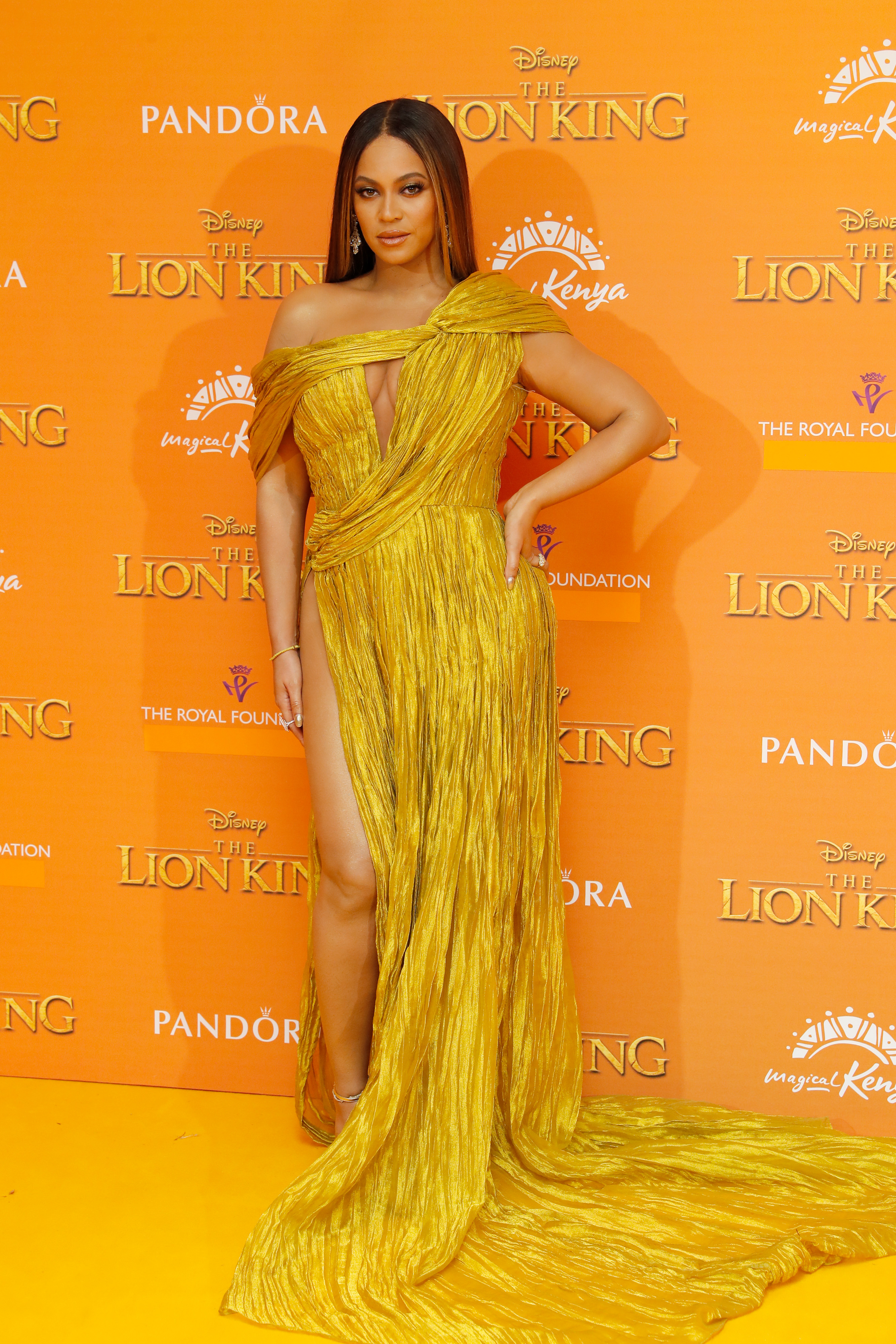 Beyonce, look, The Lion King, premier, londres