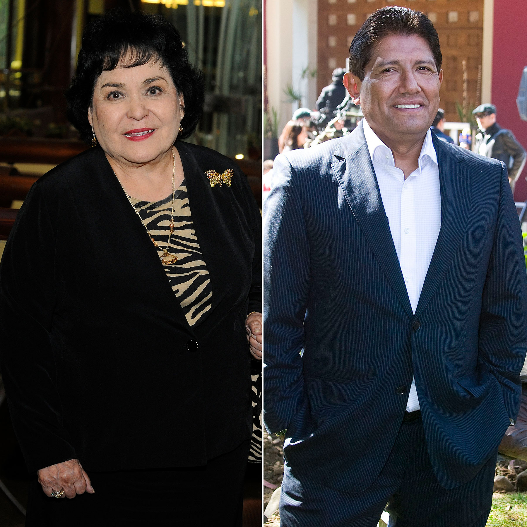 Juan Osorio y Carmen Salinas