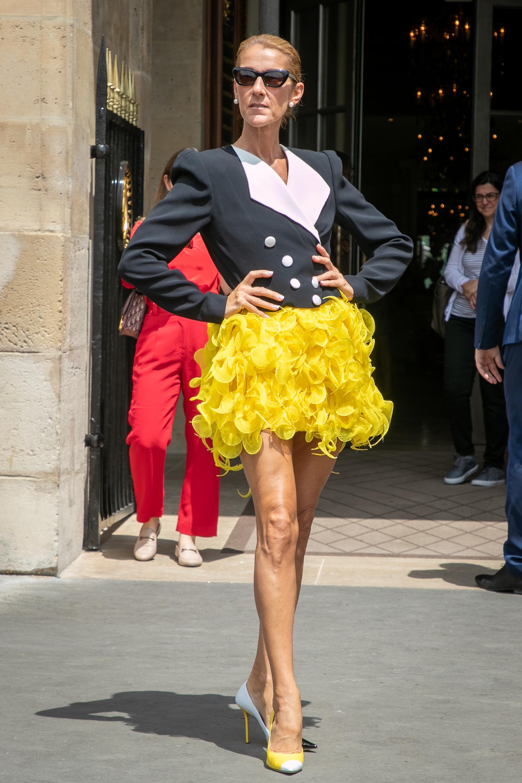 Celine Dion, looks, paris