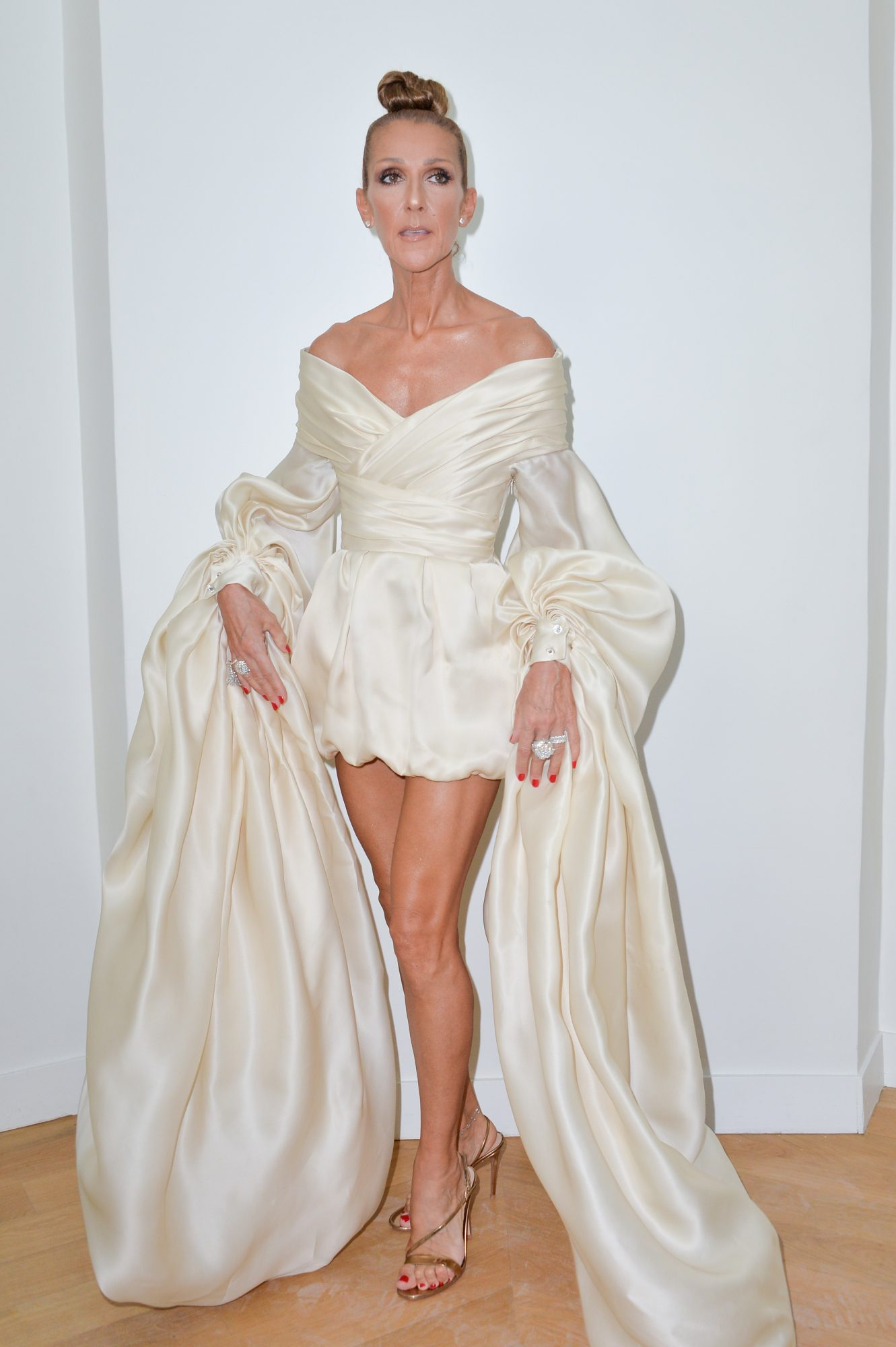Celine Dion, looks, Paris fashion week