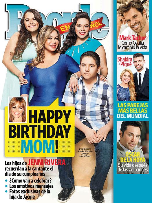 Chiquis Rivera, portada People en Español, julio 2012, costa oeste