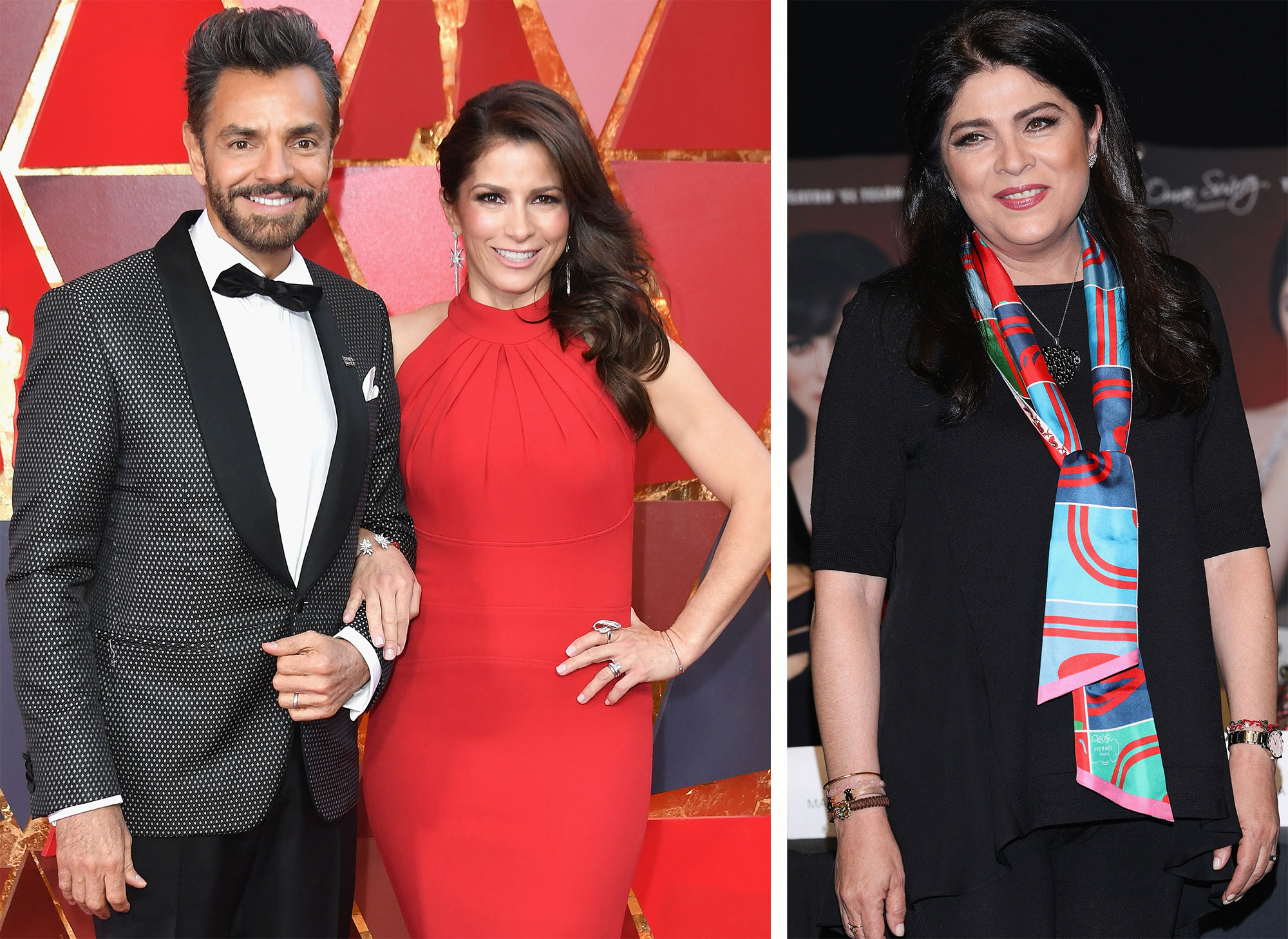 Eugenio Derbez, Alessandra Rosaldo y Victoria Ruffo