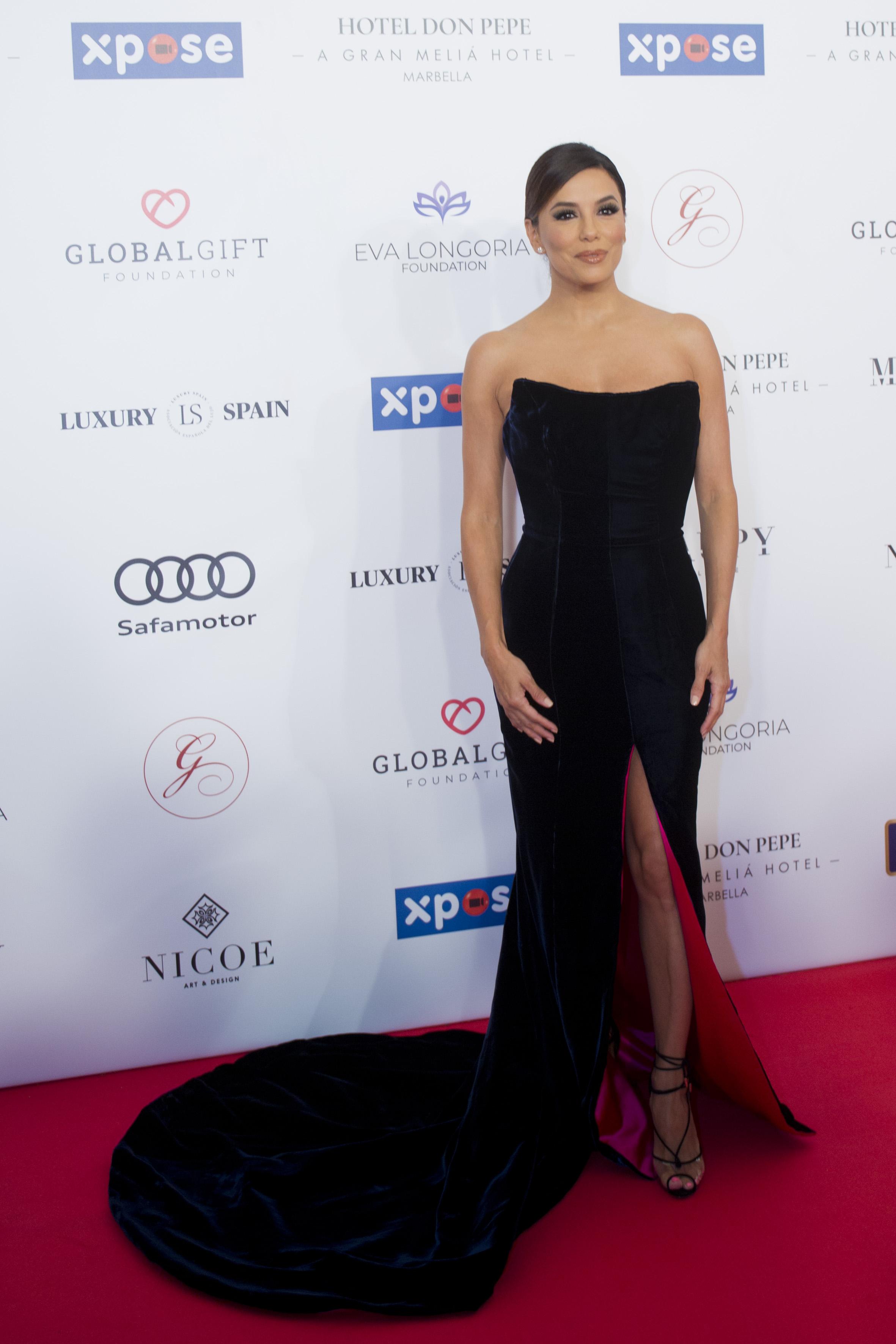 Eva Longoria, looks, Global Gift Gala, Marbella, look, vestido