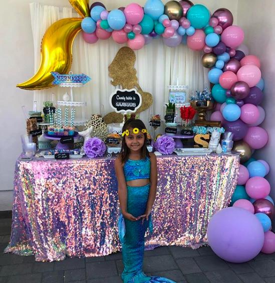 Cumpleaños de la hija de Rosie Rivera, Samantha Chay