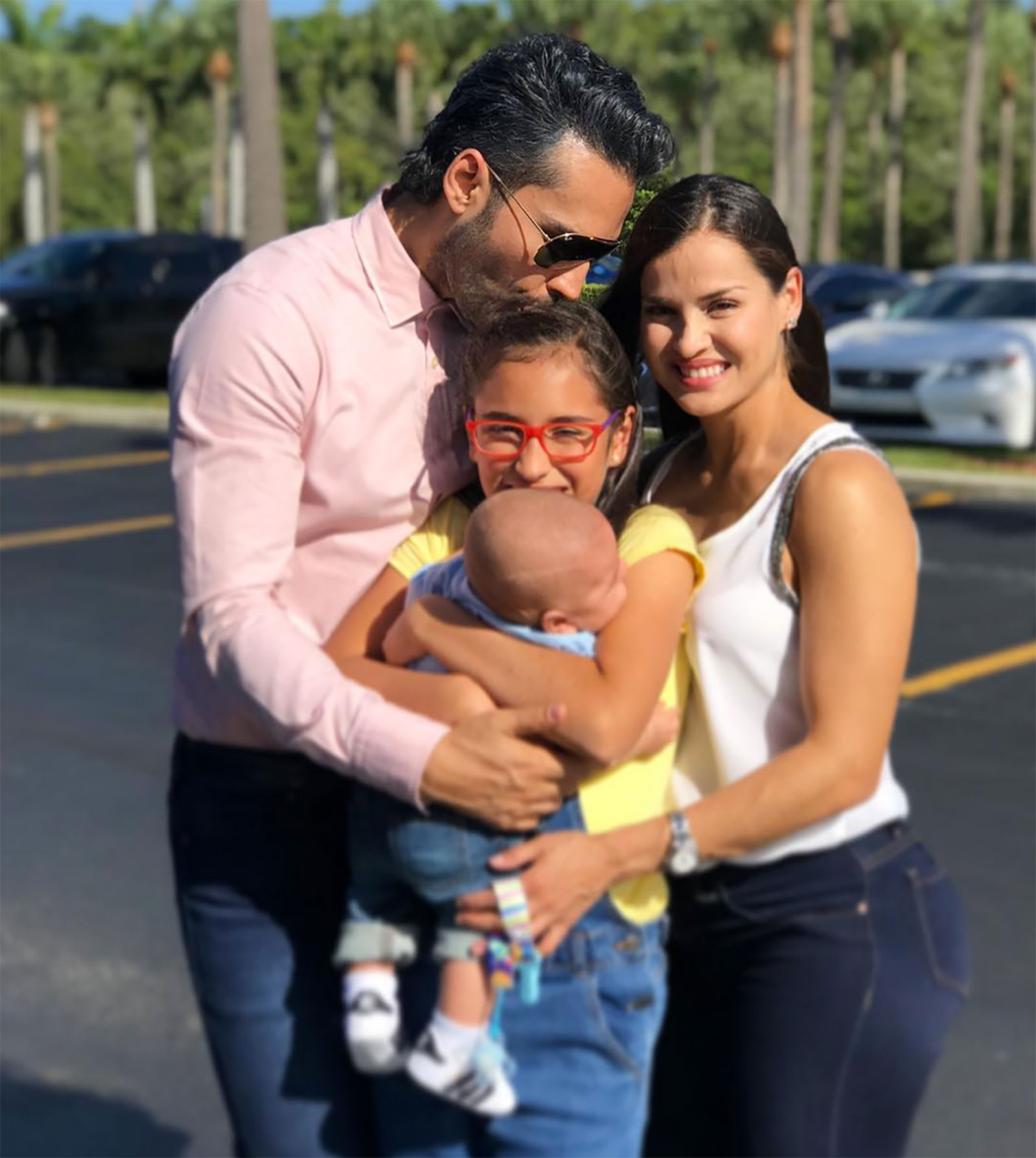 Fabián Ríos, familia