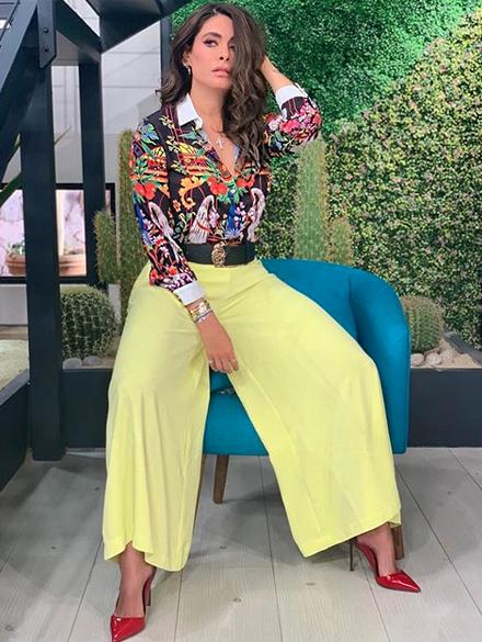 Galilea Montijo, looks, programa Hoy, Mexico
