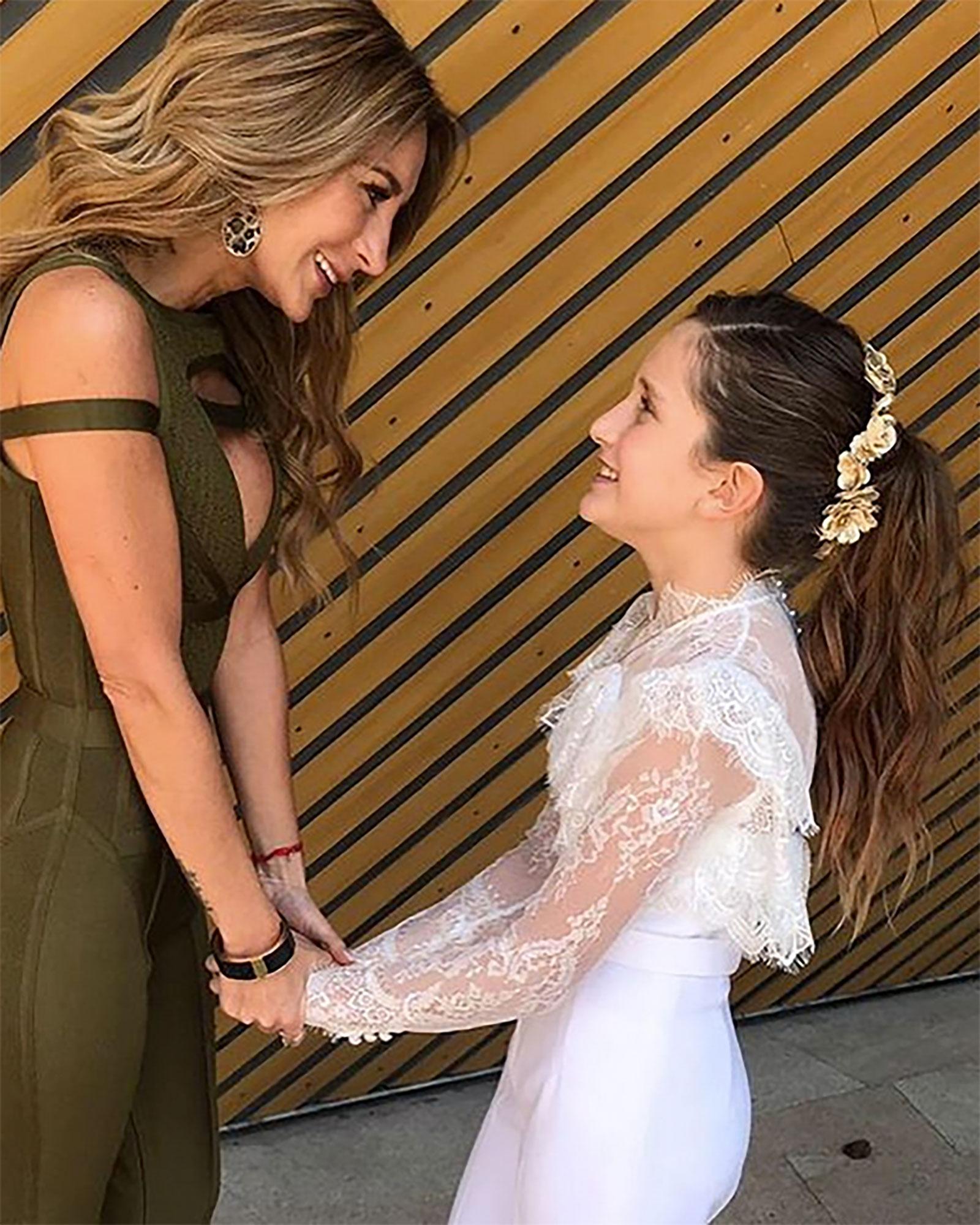 Gabriel Soto, Geraldine Bazán, hija