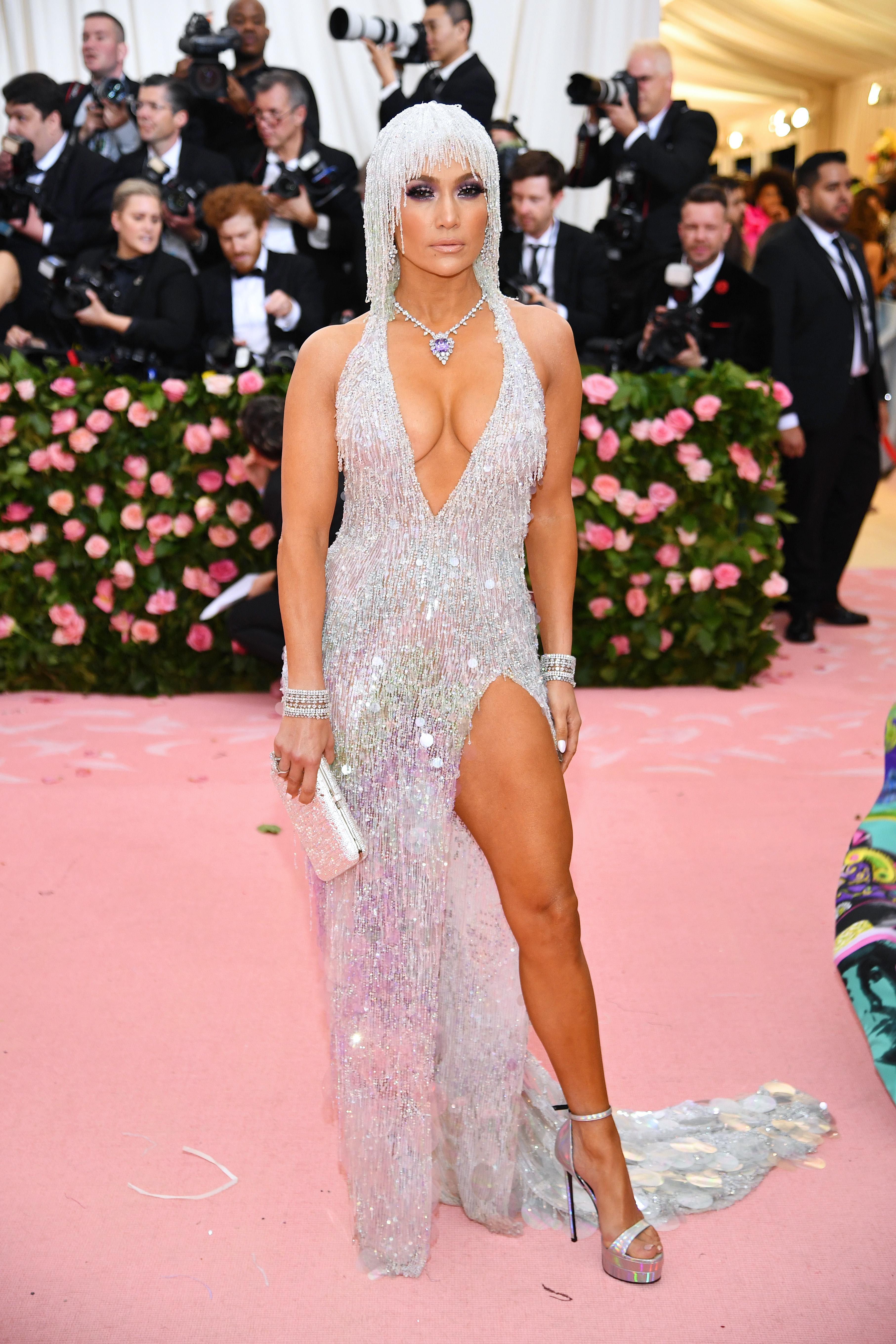 Jennifer Lopez, Jlo, look, Met Gala, 2019