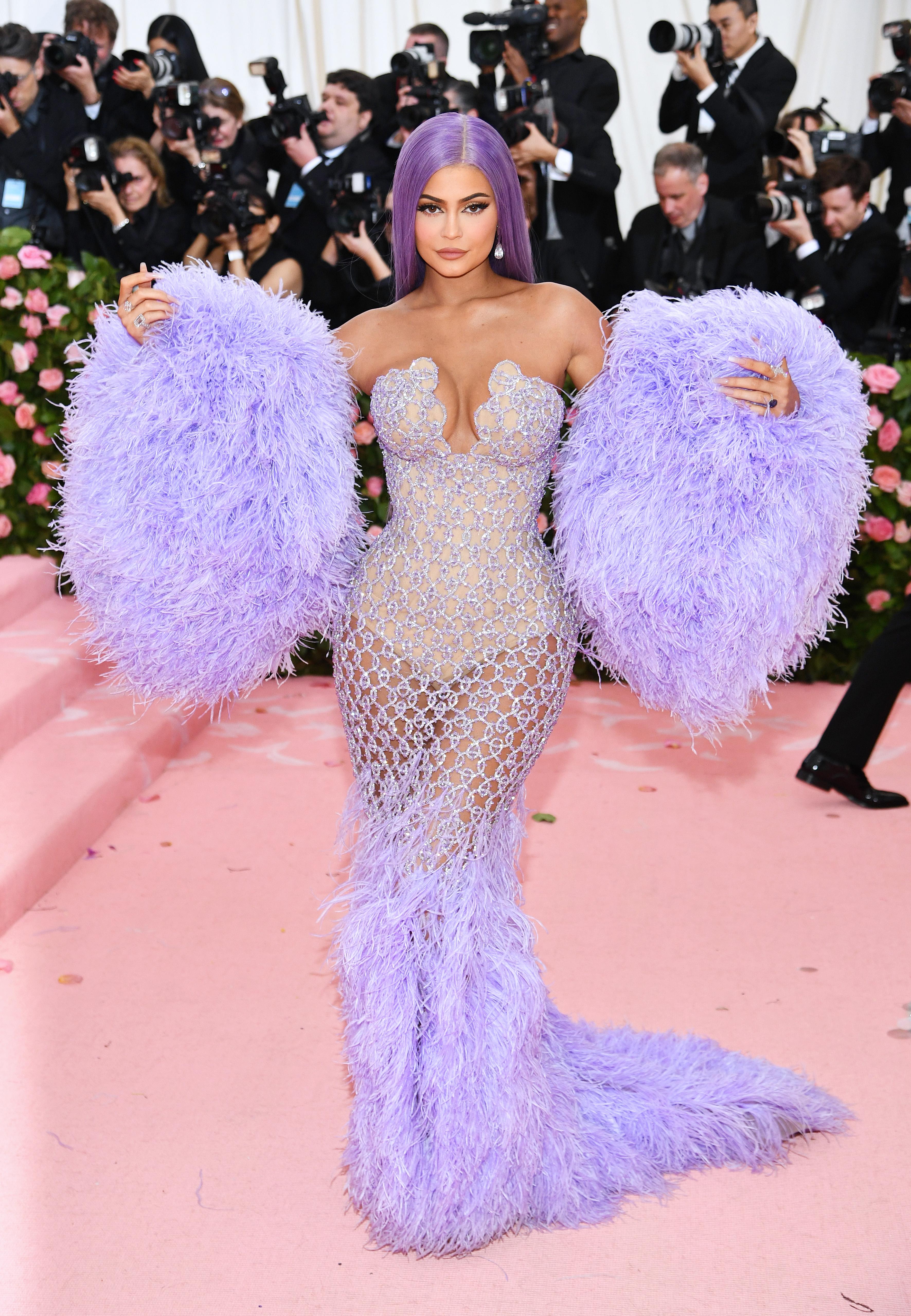 Kylie Jenner, look, Met Gala, 2019