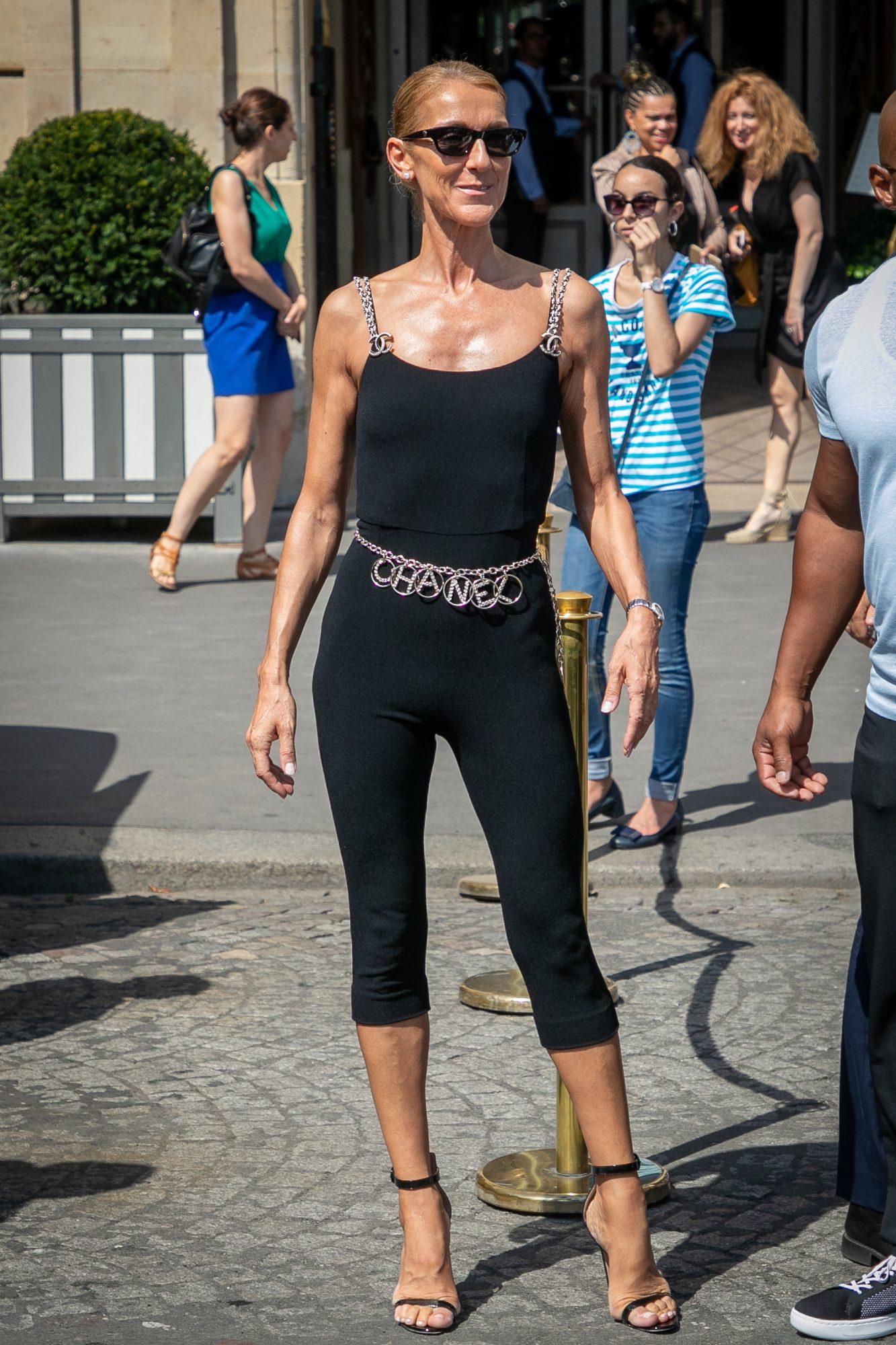 Celine Dion, Paris Fashion Week, looks