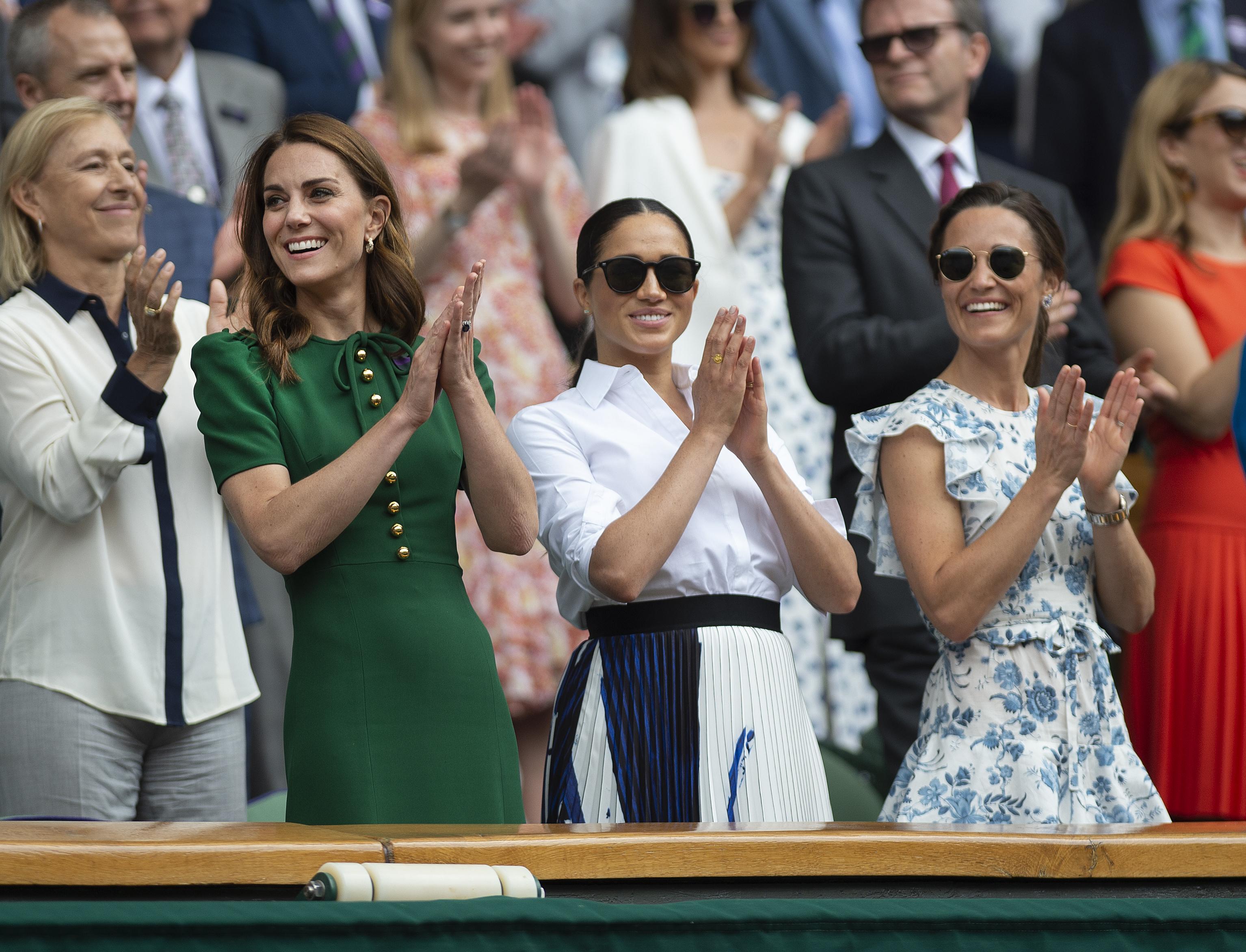 Pippa Middleton, Kate Middleton, Meghan Markle