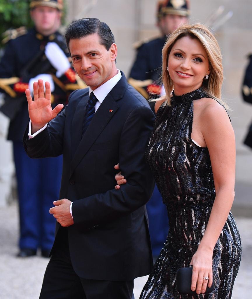 Enrique Peña Nieto y Angelica Rivera