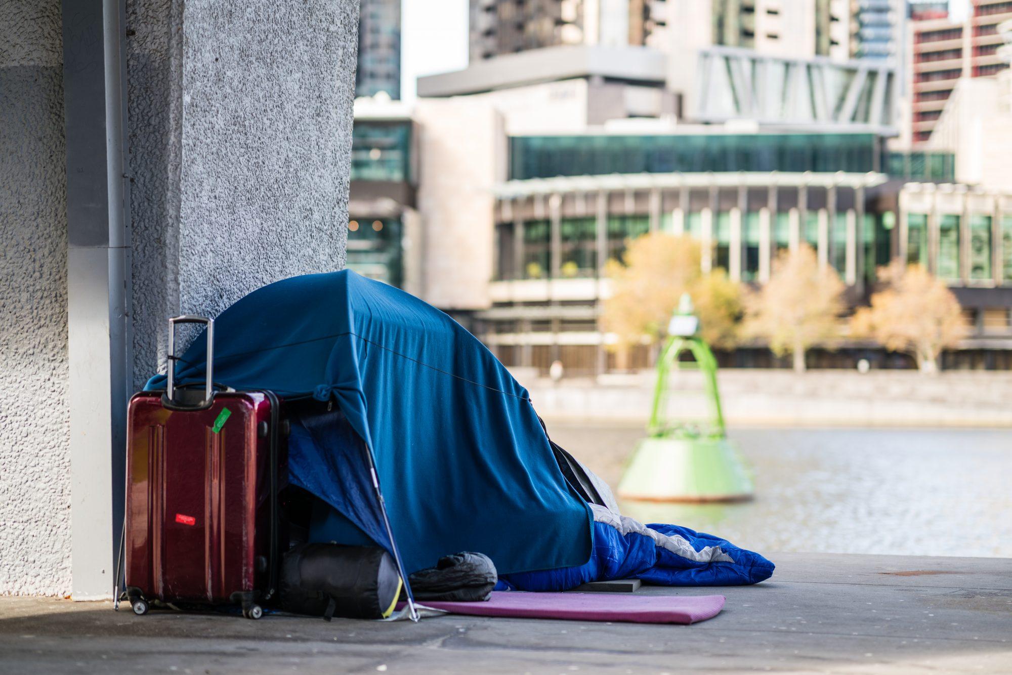 Homelessness in Melbourne