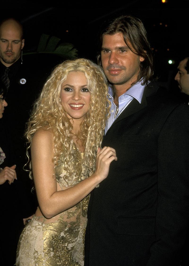 Amores de Shakira, hombres