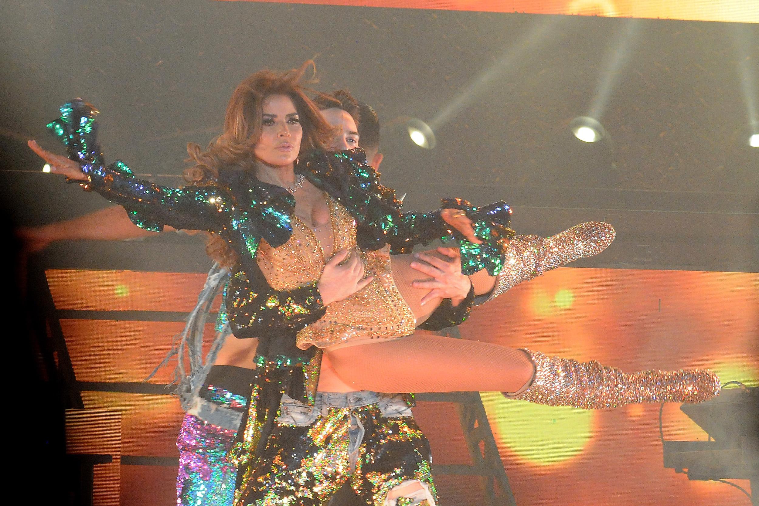 Gloria Trevi celebró un récord de diez fechas agotadas en la Arena Ciudad de México