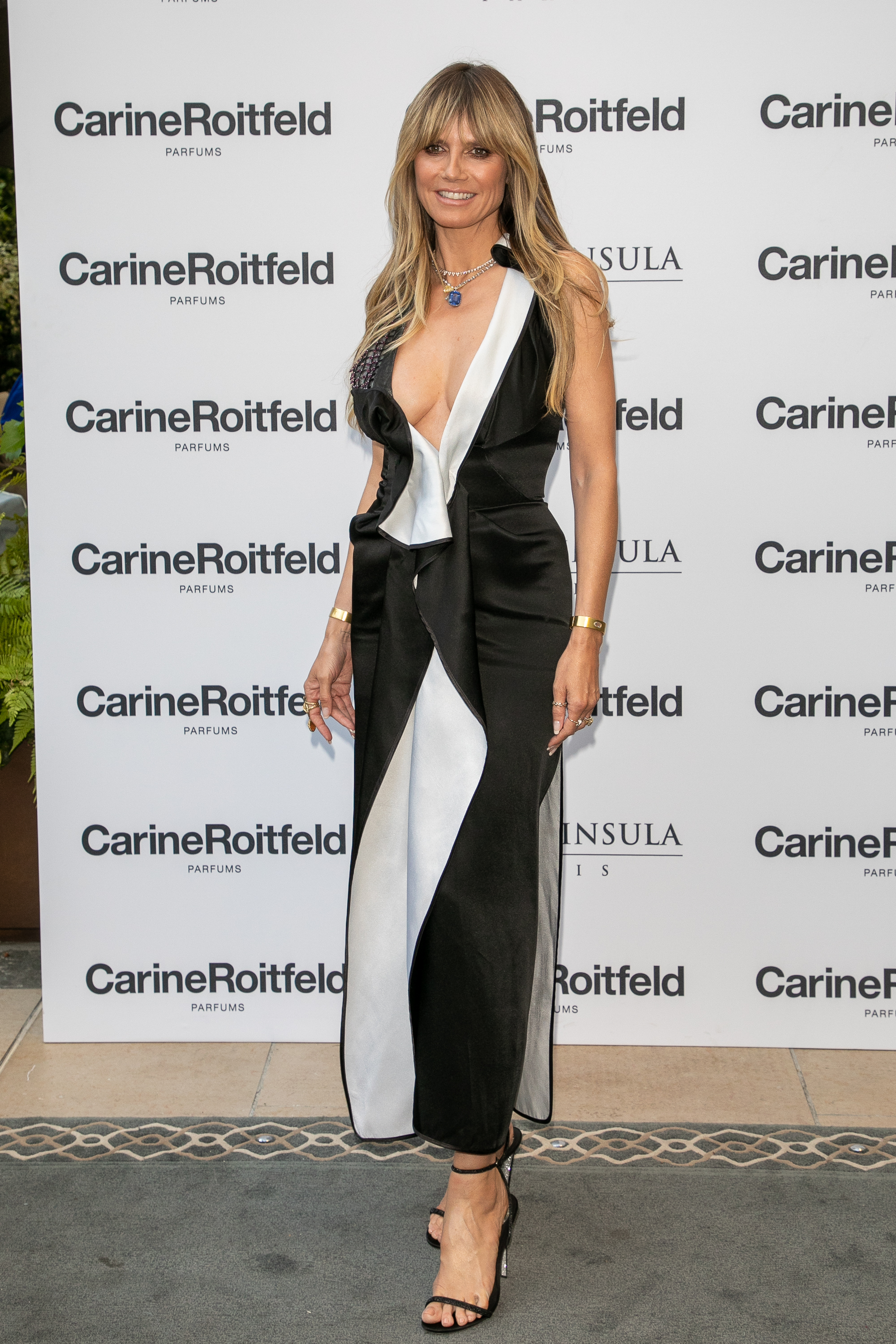 Heidi Klum, look, jumpsuit, paris