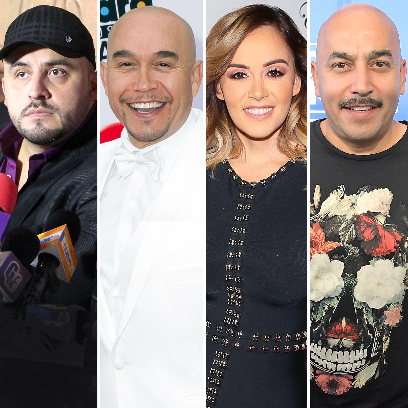 Juan, Gustavo, Rosie y Lupillo Rivera