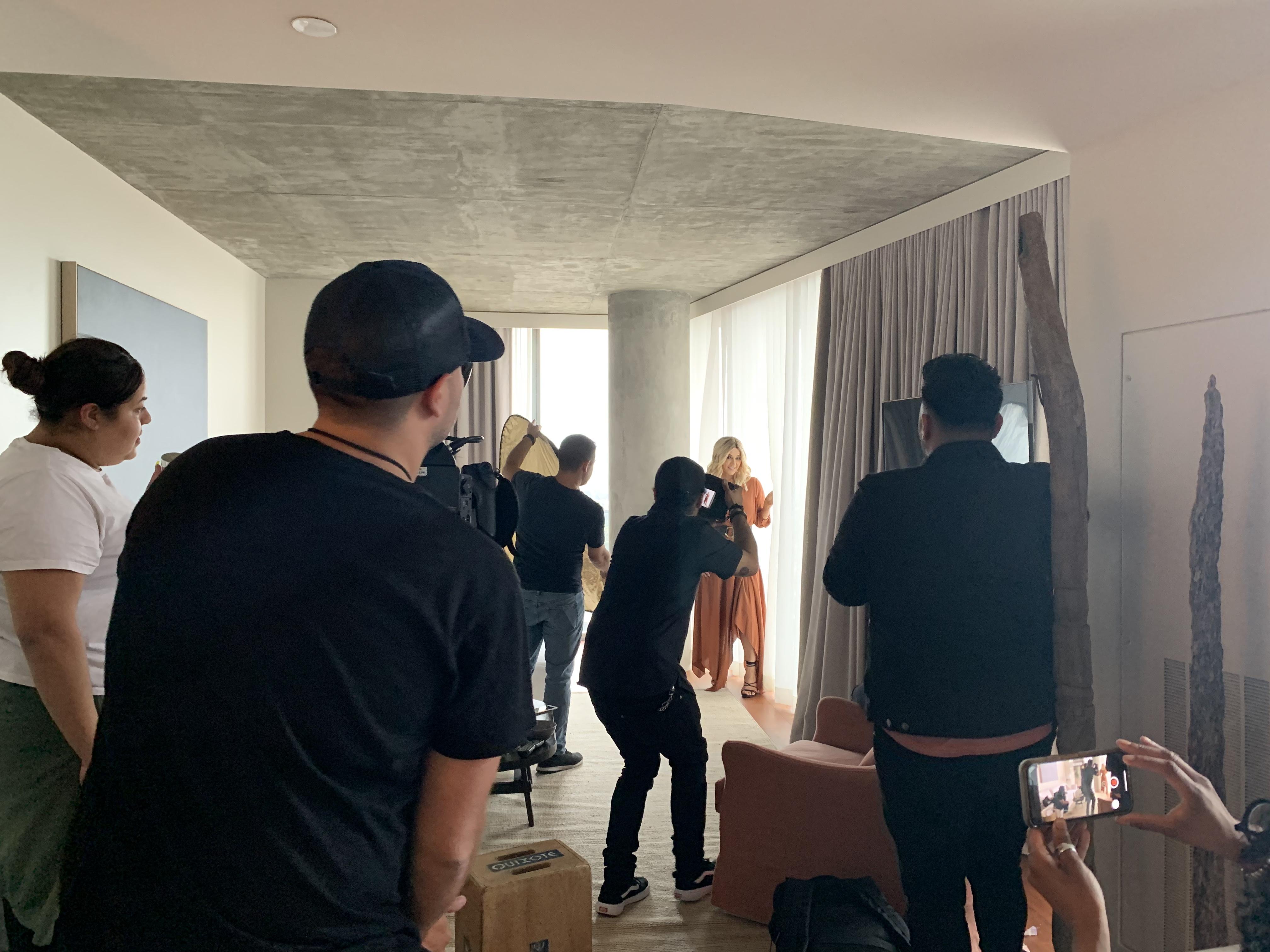 BTS Rosie Rivera Shoot