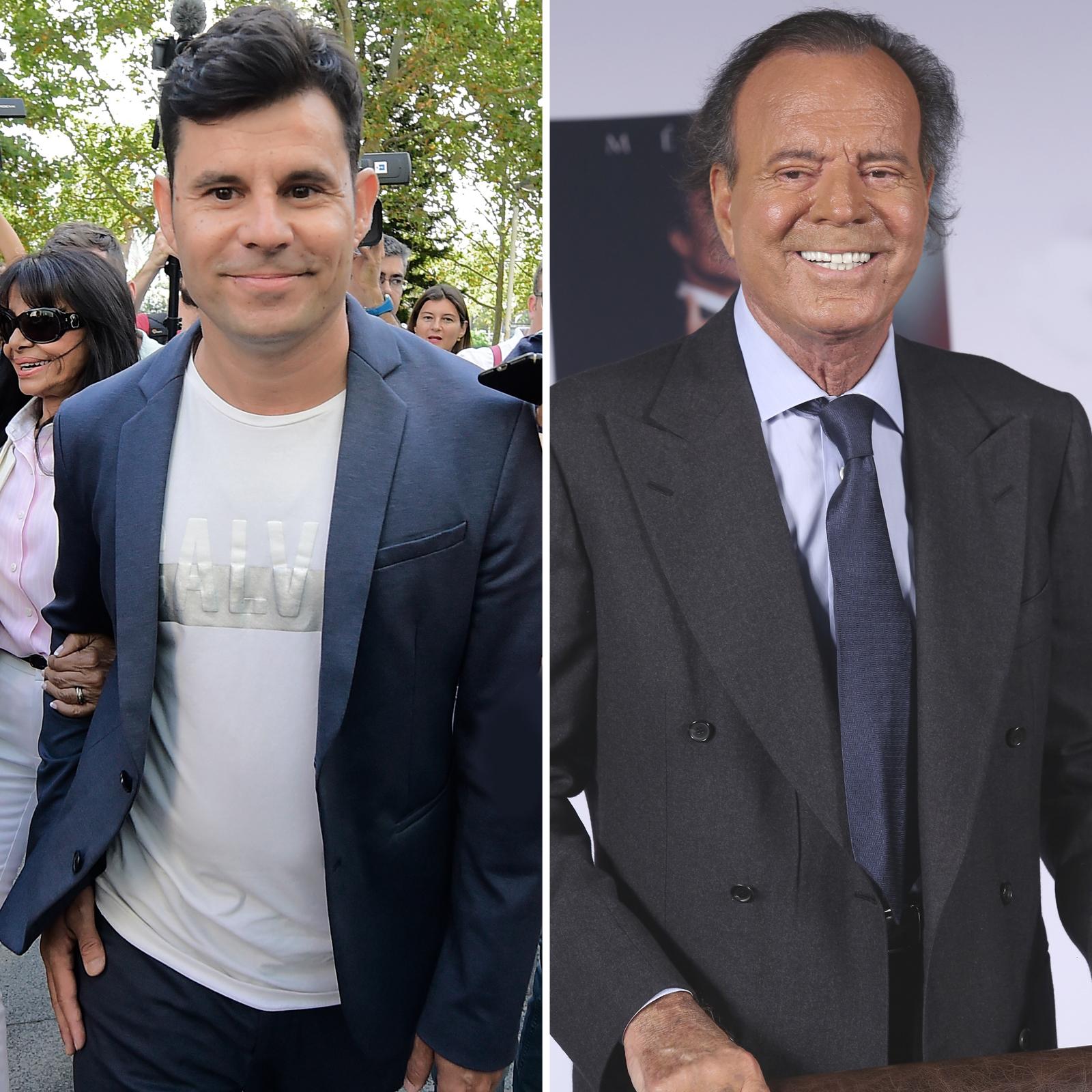 Javier Sánchez Santos y Julio Iglesias