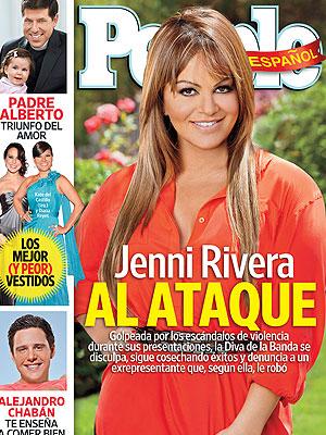 Jenni Rivera, Portada Septiembre 2011