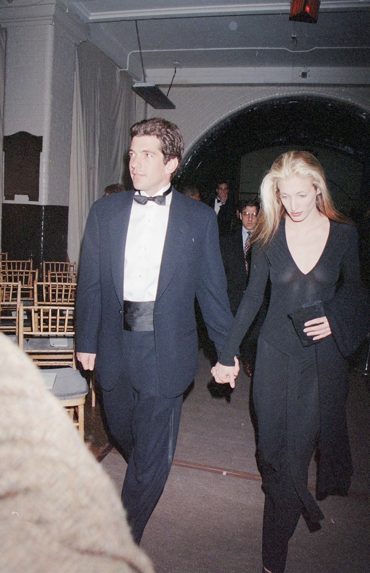 John F. Kennedy Jr. and Carolyn Bessette