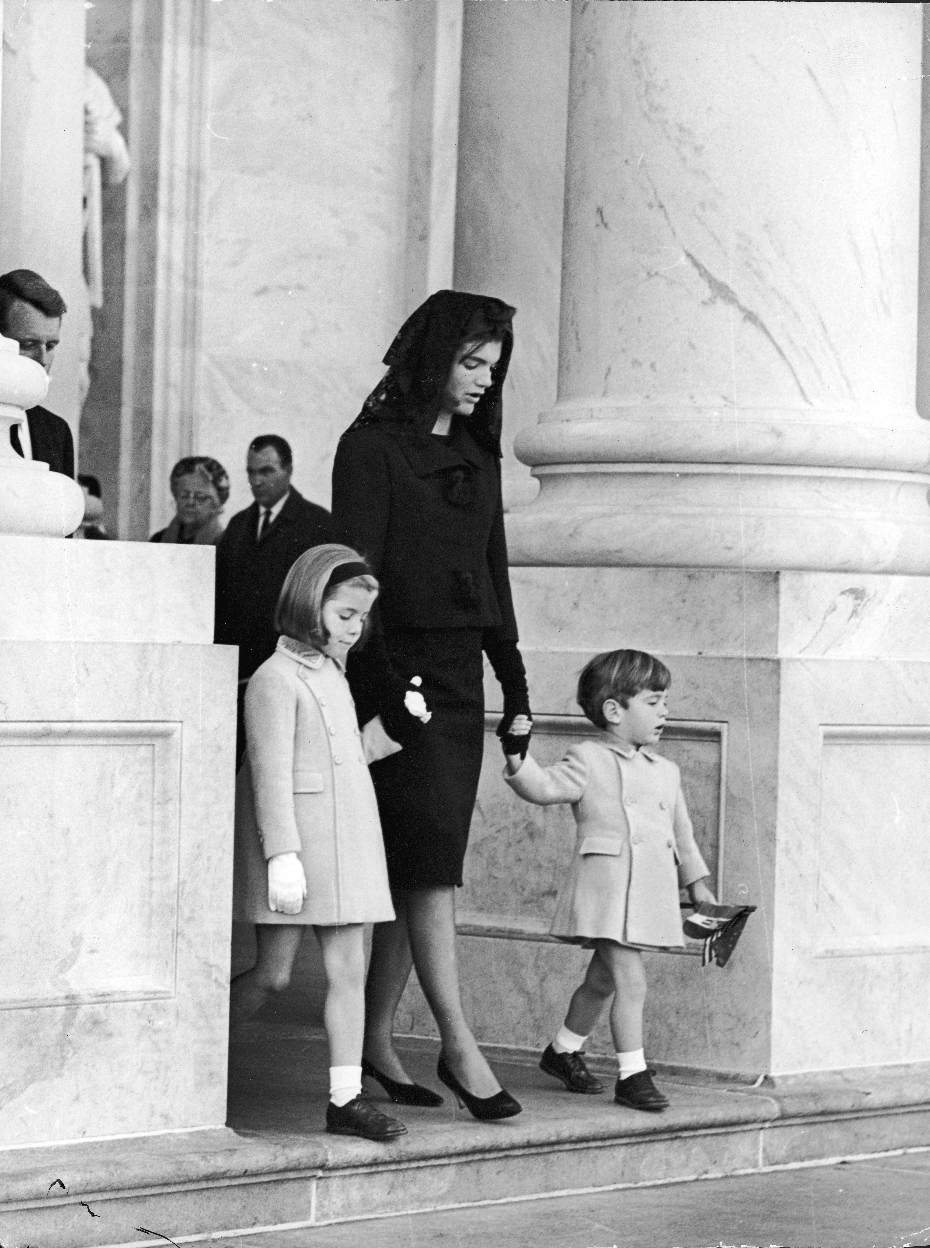 Family At JFK Funeral