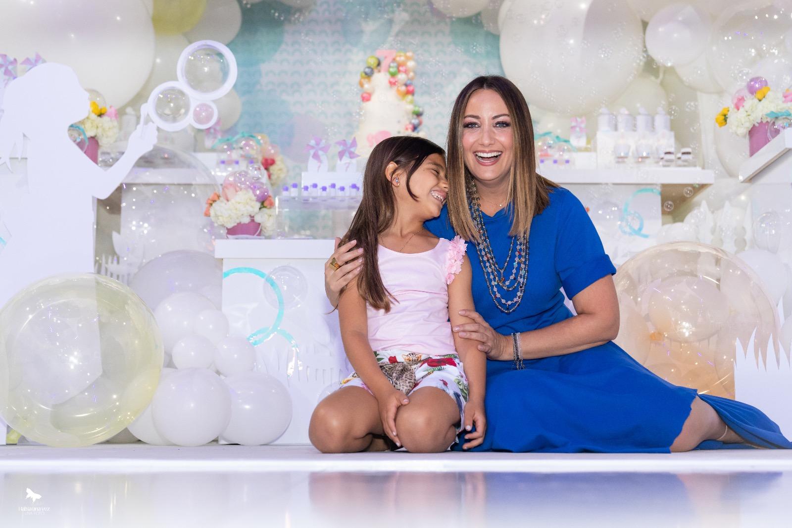 Cumpleaños Amanda, hija Karla Monroig y Tommy Torres