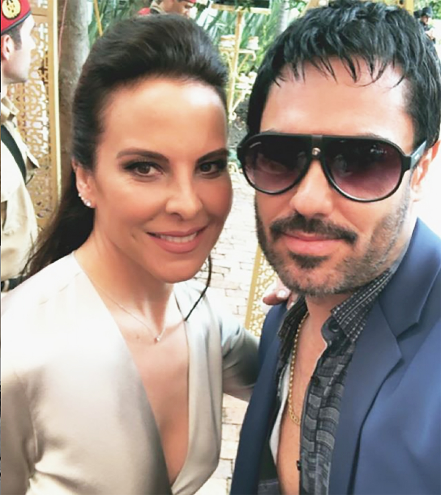 Kate del Castillo y Lincoln Palomeque