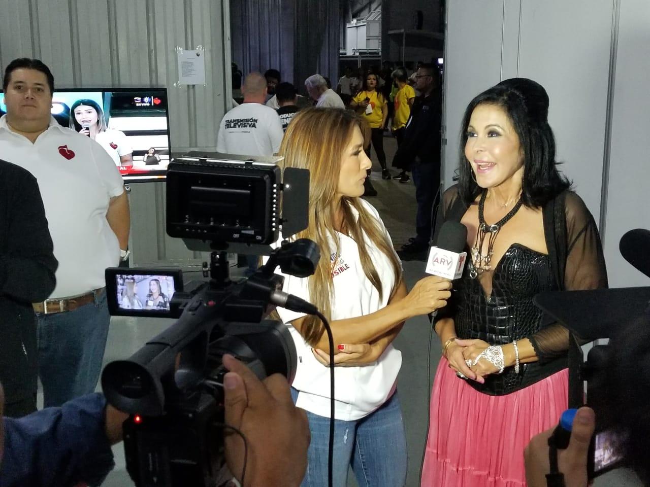 Azucena Cierco Teletón de Guatemala María Conchita Alonso