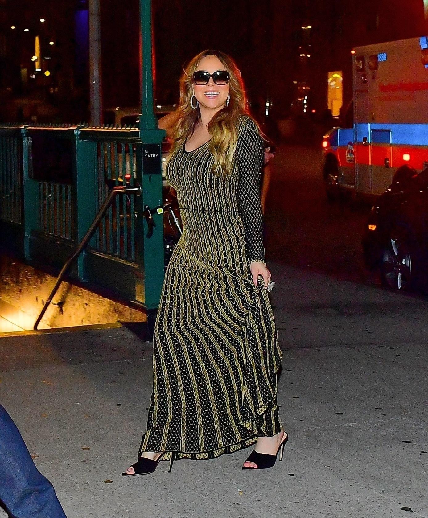 Mariah Carey, looks, new york