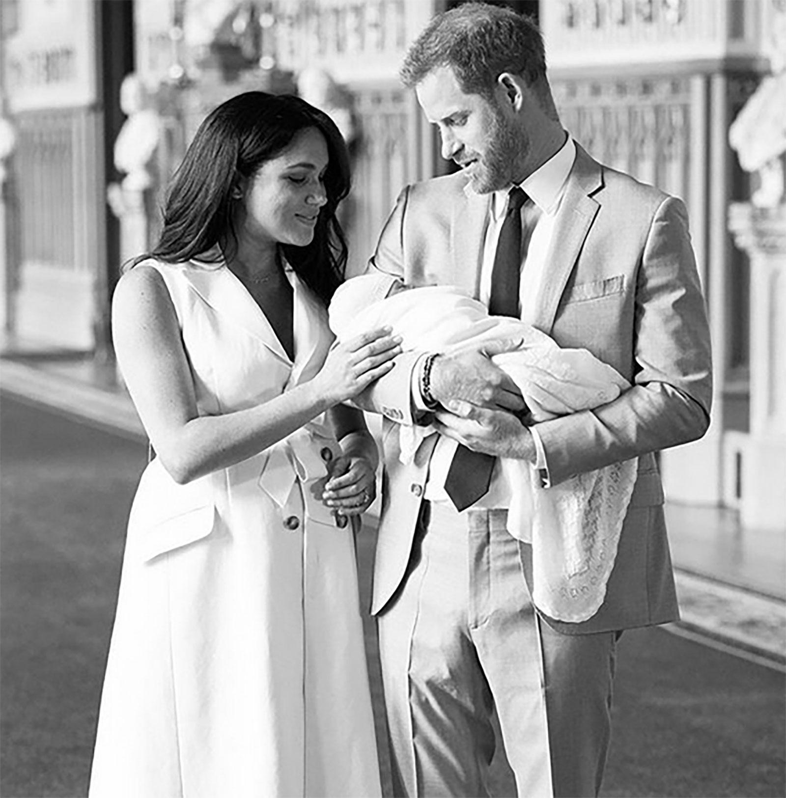 Archie, Meghan Markle, príncipe Harry
