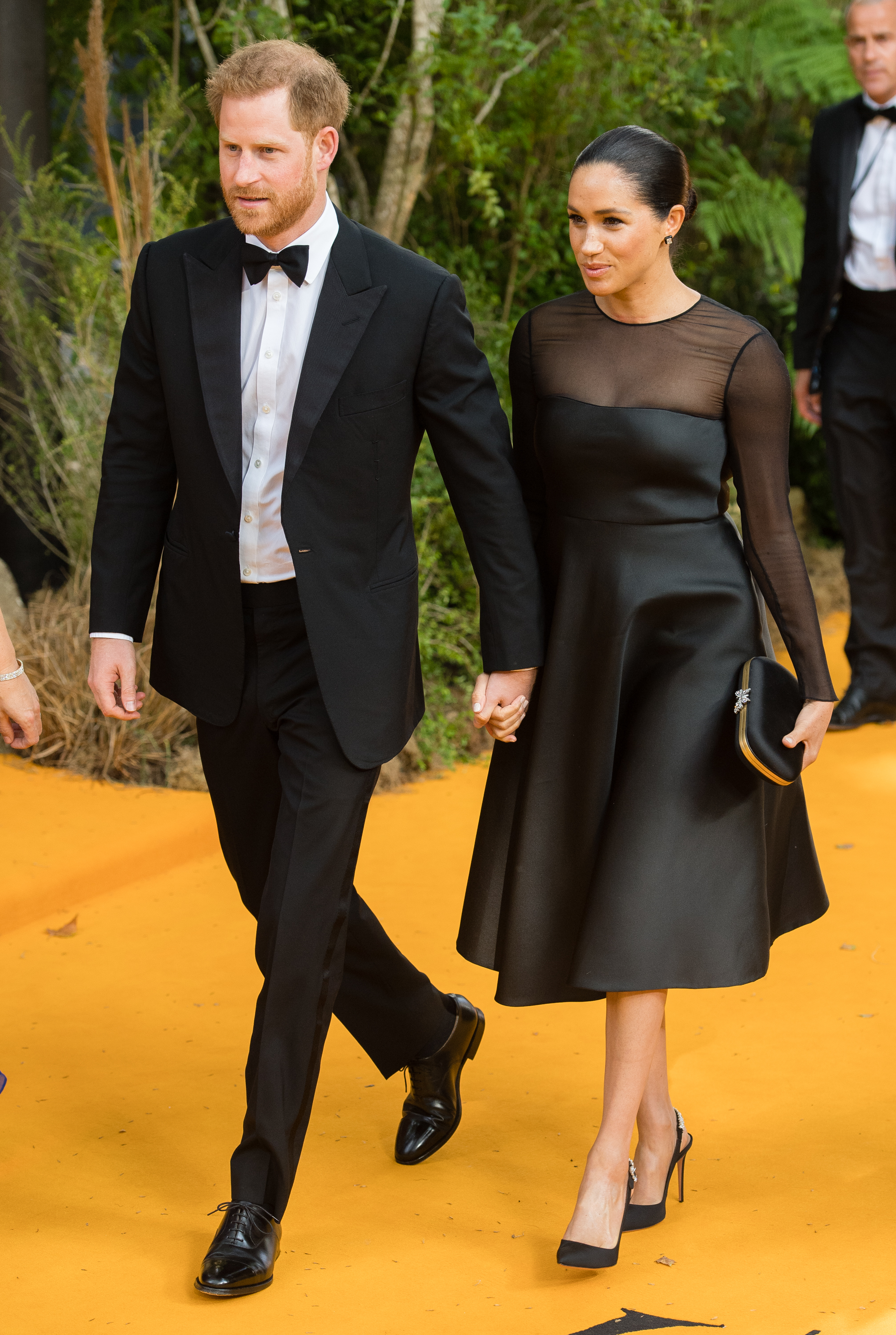 Príncipe Harry, Meghan Markle, The Lion King