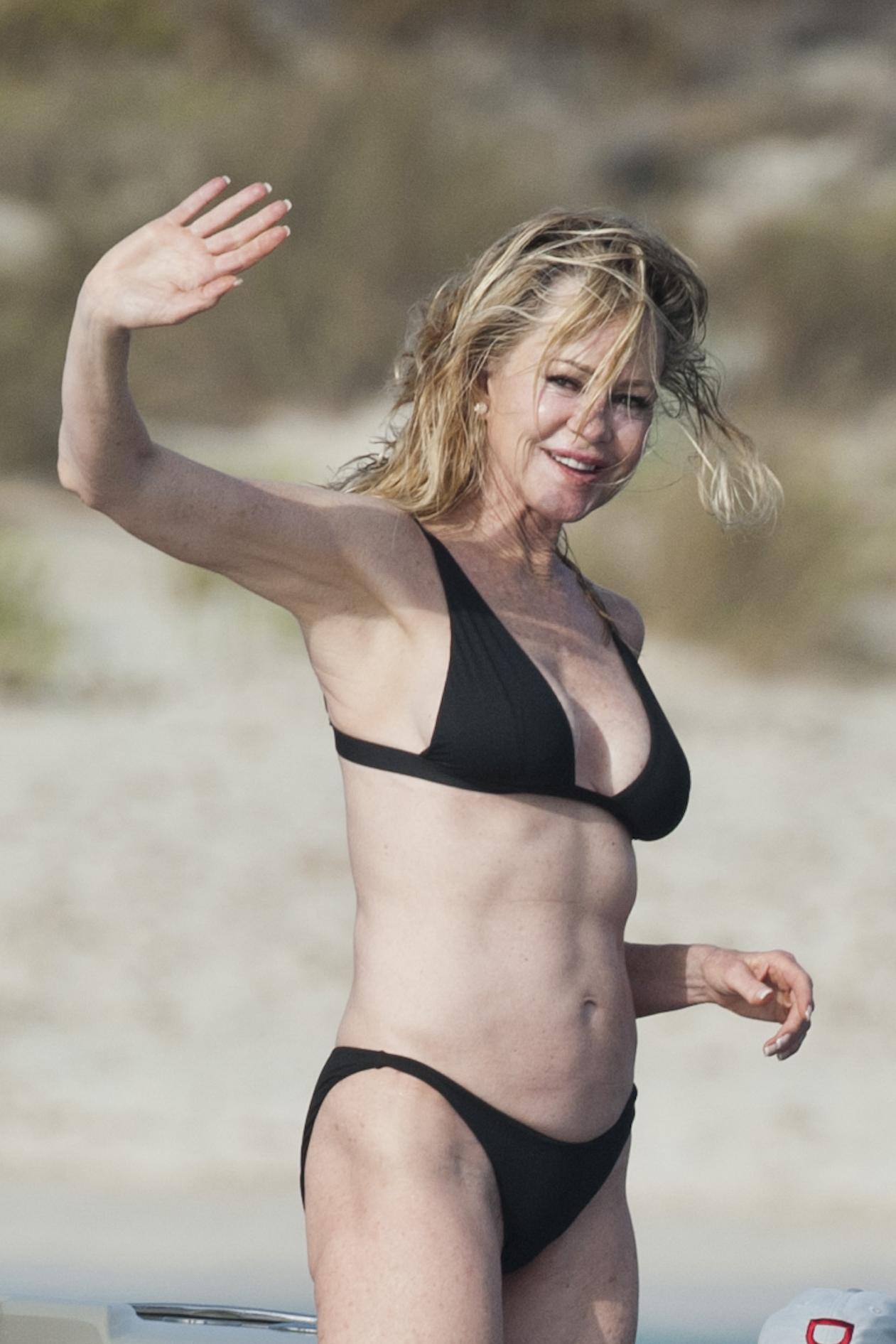 Melanie Griffith en traje de baño en Formentera