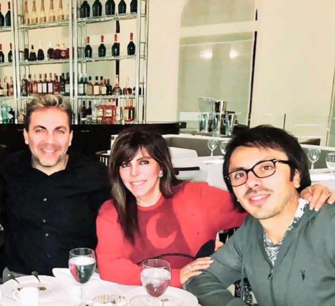 Mich, Cristian y Veronica Castro