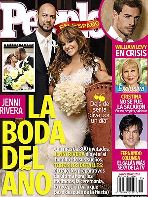 Jenni Rivera en la portada de Noviembre de PEOPLE en Español