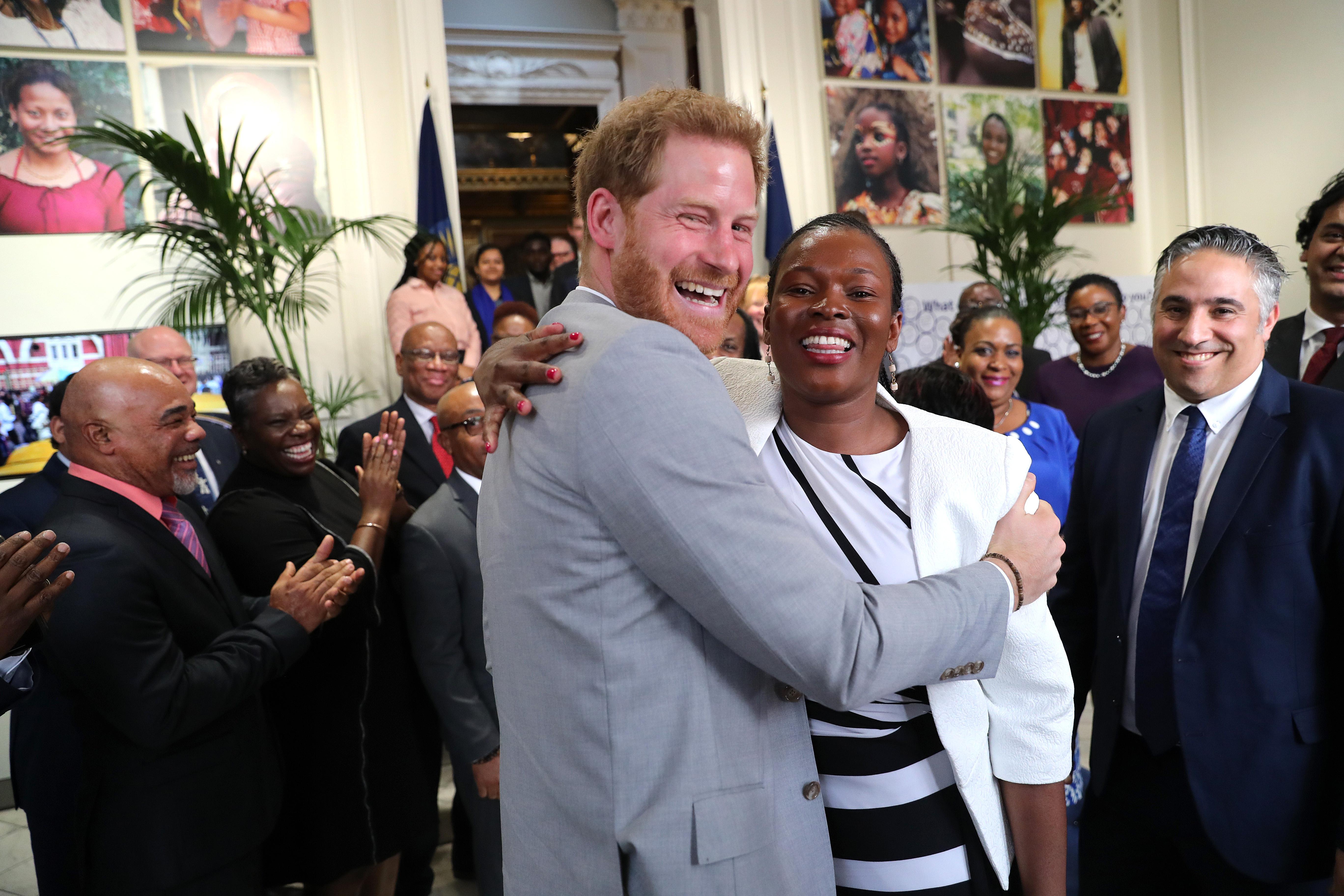 Príncipe Harry, Irene Kendi, Youth Advisor, Kenya Commonwealth Youth, Marlborough House