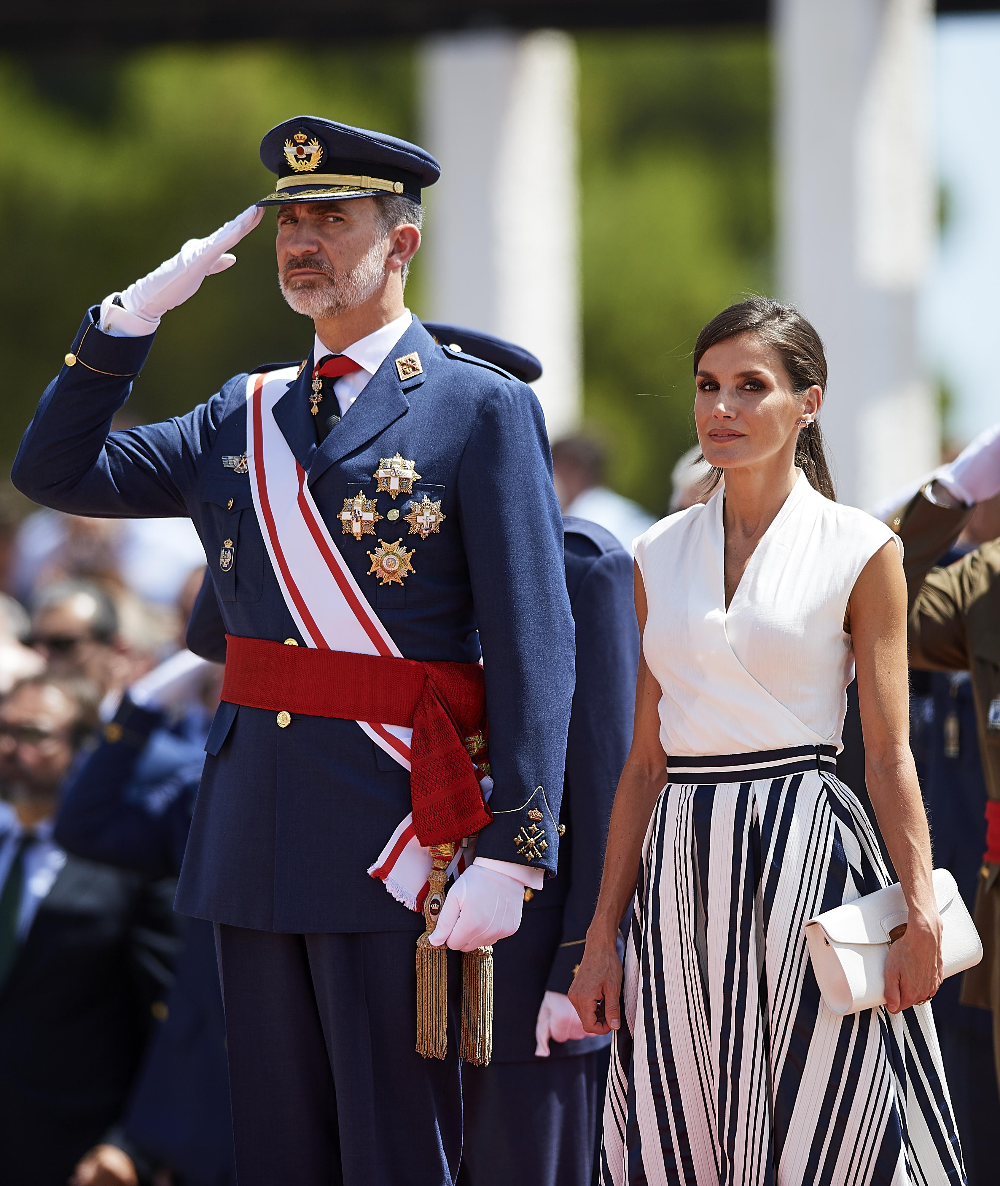 Rey Felipe VI, reina Letizia