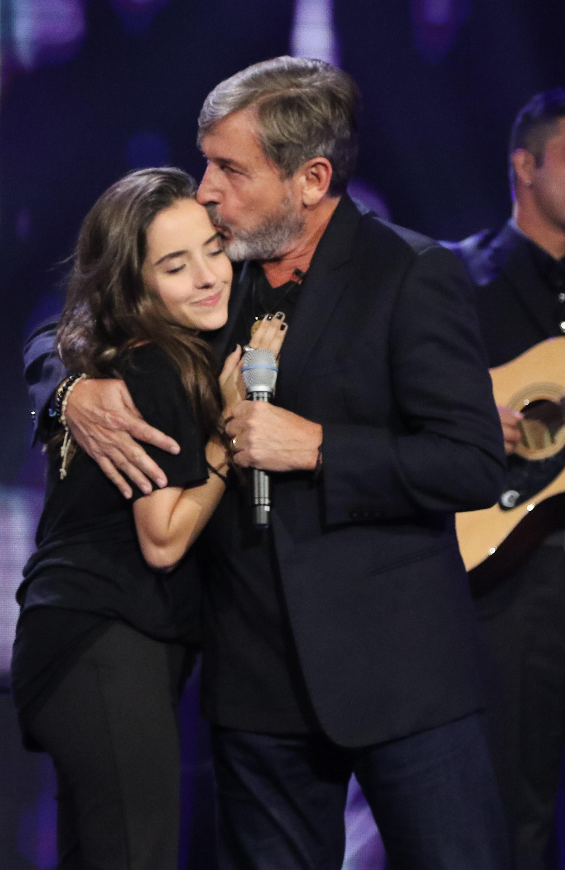 Evaluna Montaner y Ricardo Montaner