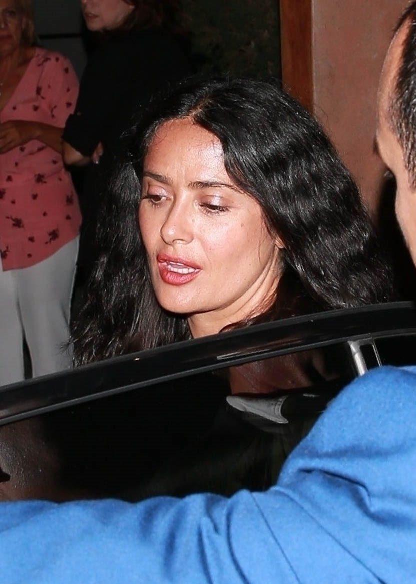 Salma Hayek, Angelina Jolie, Meghan Markle